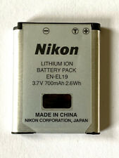 Original Nikon EN-EL19 Lithium-Ion Battery (700mAh) for COOLPIX digital camera