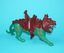 MOTU HE-MAN MASTERS OF THE UNIVERSE BATTLE CAT 100% COMPLETE FRANCE COO MATTEL