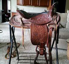 """15"""" Circle C western saddle"""