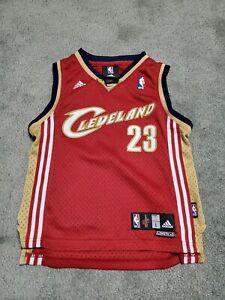 Lebron James Size Large NBA Kids Jersey Cleveland Cavaliers Kids Adidas Cavs 23