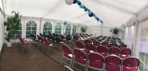 9x6 Meter Flat Roof Linings Drapings Gala Tent Fusion - MARQUEE NOT INCLUDED