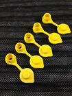 5 - Yellow Fuel Gas Can Jug Vent Cap Blitz Wedco Scepter Essence Midwest Eagle
