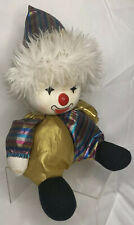 Poter Clown Doll Musical Song Moves Head Wind Up Vintage 1986 Sayko Taiwan Japan