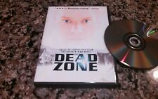 THE DEAD ZONE DVD! LIONS GARE 2001 STEPHEN KING PSYCHOLOICAL THRILLER!