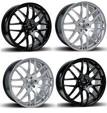 "18"" Audi a4/a5/a6-Vw with tyres cl/clk/cls-Riva DTM Alloy Wheels"