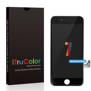 iTrucolor iPhone 7 Screen - Vivid Color LCD - Black UK