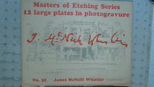 Masters Etching Book James McNeill Whistler Photogravure Plates 1932 # 32 NR