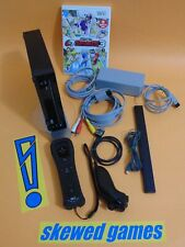 Wii Console - Black System Deca Sports 3 Game MotionPlus - Nintendo Lot Bundle