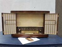 Siemens M57 Kammermusik Schatulle Röhrenradio
