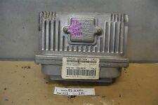 1997 Oldsmobile Achieva Engine Control Unit ECU 16217058 Module 80 11D2