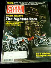 Cycle Guide March 1982 - Double Exclusive: The Nightstalkers