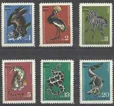 Timbres Animaux Bulgarie 1602/7 ** lot 29063