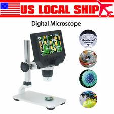 G600 1-600X 4.3inch Digital Microscope Magnifier Endoscope Professional Camera