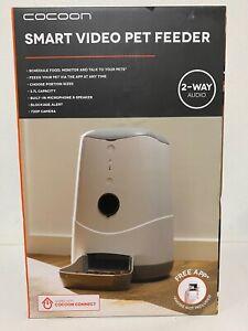 Cocoon Smart video pet feeder new in box