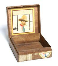 More details for vintage 1920s - 50s  v coronas (special army quality) cigar box