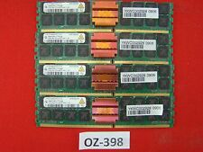 8gb 4x2gb qimonda ddr2-533 4200f 2rx4 ECC FB-DIMM hys72t256020hfd-3.7-a #oz-398