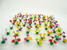 Lego 5pce Flower Pack - Random Selection of 5 x Stems - Colours will vary