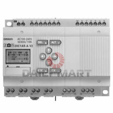OMRON NEW ZEN-20C1DR-D-V2 PLC AUTOMATION ANALOG PROGRAMMABLE RELAY