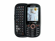 GOOD! Samsung INTENSITY SCH-U450 Camera QWERTY Slider VERIZON Cell Phone BUNDLE