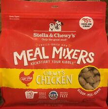 Stella & Chewy's Freeze-Dried Chewy's Chicken for Dogs SEALED 18oz  07/07/2021