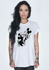 Seditionaries Unisex Punk Mickey Minnie Mouse BJ XXX T SHIRT S-XXL TShirt Tee