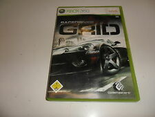 XBox 360  Race Driver GRID