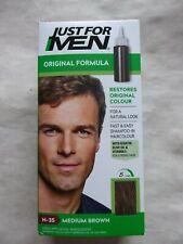 Just for Men Shampoo-In Hair Colour Dye Original H- 35- Medium Brown