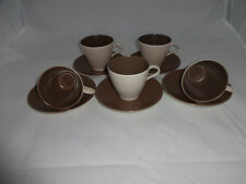 1940-1959 Poole Pottery Cups & Saucers