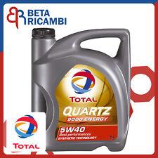 Total Quartz 9000 ENERGY Olio motore 5W40 5 Litri ACEA A3/B4 API SN/CF BMW VW