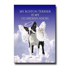 Boston Terrier Guardian Angel Magnet Dog Pet Loss