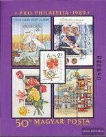 Ungarn Block207A (kompl.Ausg.) postfrisch 1989 Pro Philatelia