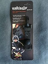 Tactical WalkieClip Mic Holder Shirt Clip Attachment Police/Fire/EMT Radio