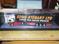 "CORGI MODERN TRUCKS ERF CURTAINSIDE ""EDDIE STOBART LTD"" NO 75201 VINTAGE STOCK"