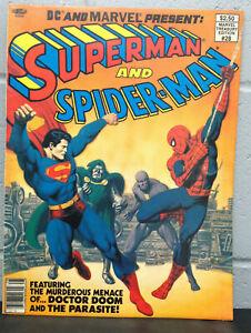 Marvel Treasury Edition (1981) #28 Superman and Spider-man - High Grade