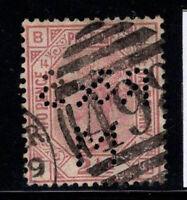 Großbritannien 1876 Mi. 47 Gestempelt 100% 2 1/2 p, Königin Victoria