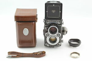 White Face [MINT Case] Rolleiflex 3.5F Planar 75mm Lens Type 4 12/24 from JAPAN