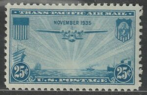 Scott C20 25¢ China Clipper over the Pacific Air Mail Mint Single MNH