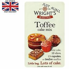 2 x 500g Wright's Toffee Cake Mix