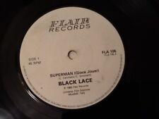 BLACK Lace. SUPERMAN (GIOCA JOUER) 1983. parte classico anni 1980 Discoteca Hit