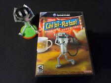Chibi-Robo (Nintendo GameCube, 2006) CIB COMPLETE WITH INSERTS AND AMIIBO