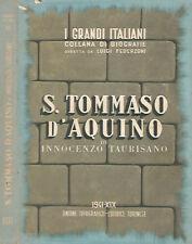 S. Tommaso D'Aquino. . Innocenzo Taurisano. 1941. .