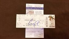 CARLOS CORREA SIGNED 1ST HOME RUN HR TICKET STUB JSA COA ROOKIE GRAPH