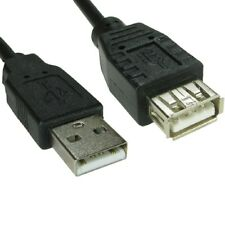 1m Short USB 2.0 Extension Cable Lead a Male to a Female Shielded