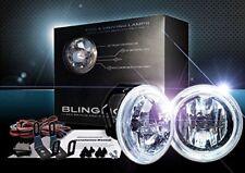 White Fog Lamp Angel Eye Driving Halo Lights for 2003-2009 Subaru Legacy BL BP