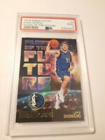 Luka Doncic HOLO Faces Of The Future 2019 Hoops Rookie Card...#3...PSA 9 Mint