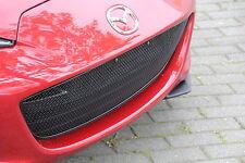 Edelstahl MESH grill passend für Mazda MX-5 ND/RF 2015- SCHWARZ