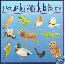 CD J'ECOUTE LES SONS DE LA NATURE NHV 850 010-2