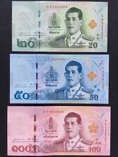 SET 2018 THAILAND 20 50 100 BAHT SIG 87 P-NEW UNC