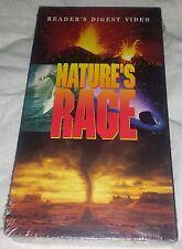 Reader's Digest Video Nature's Rage VHS NEW Sealed 120 Min.