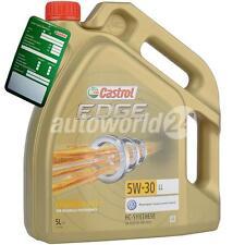 Castrol Edge 5W-30 LL Titanium FST, 5 Liter Motoröl, LONGLIFE 507 00 VW, Audi